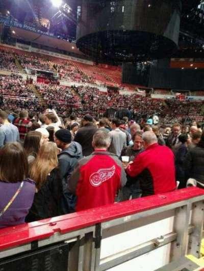 Joe Louis Arena, section: 123, row: 2, seat: 6