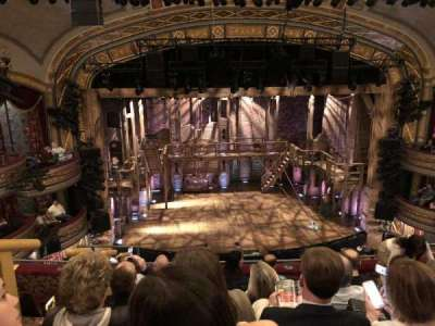 Richard Rodgers Theatre, section: F Mezz, row: F, seat: 114