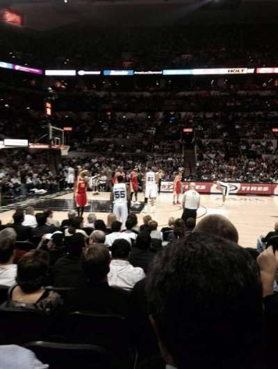 AT&T Center, section: 24, row: 10, seat: 2