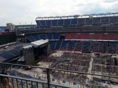 Gillette Stadium section 309