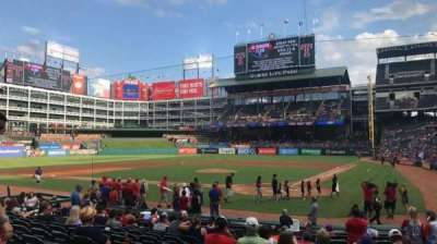 Globe Life Park in Arlington, section: 23, row: 12, seat: 5