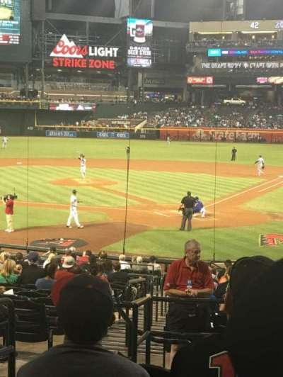 Chase Field, section: 124, row: 29, seat: 13