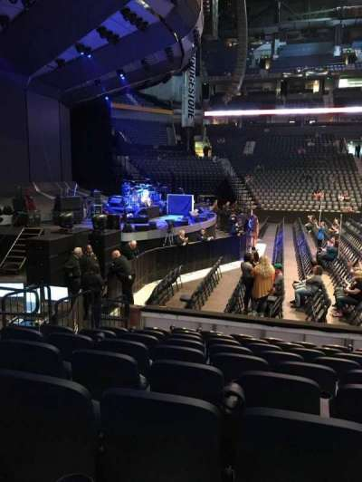 Bridgestone Arena, section: 114, row: JJ, seat: 14