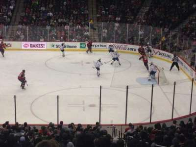 Xcel Energy Center, section: 102, row: 27, seat: Standing