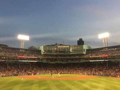 Fenway Park, section: 33, row: 5, seat: 1