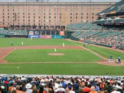 Oriole Park at Camden Yards, section: 49, row: 1, seat: 8