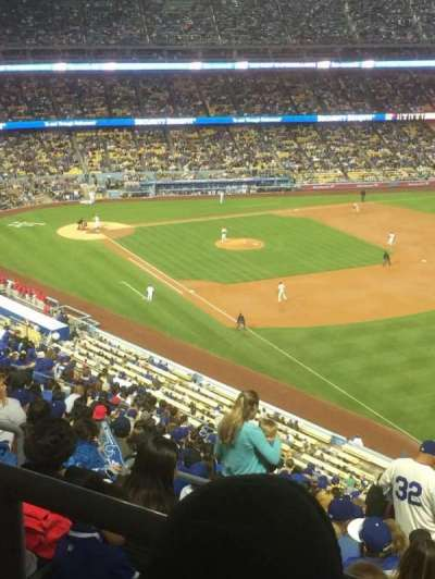 DODGER STADIUM section 42RS