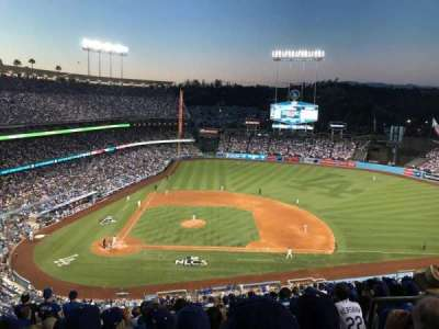 DODGER STADIUM section 10RS