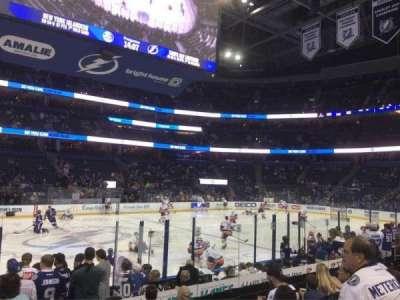 Amalie Arena, section: 117, row: K, seat: 3