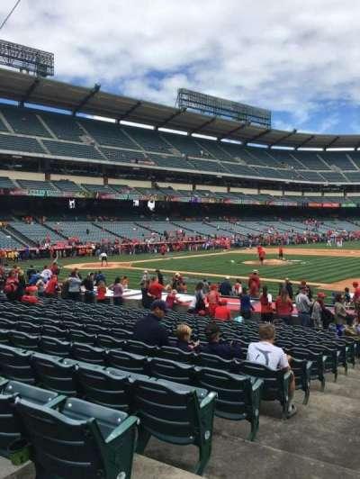 Angel Stadium, section: F126, row: S, seat: 1