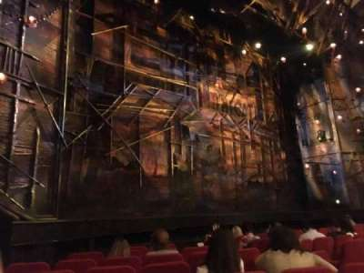 Broadway Theatre - 53rd Street, section: ORCL, row: I, seat: 14 And 16