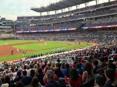 Seat View Reviews From Suntrust Park Home Of Atlanta Braves