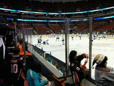 Honda Center, section: 207, row: C, seat: 102