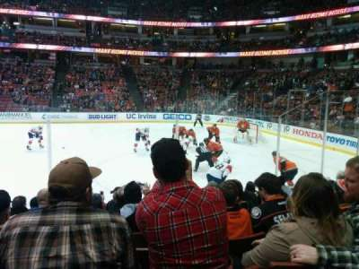 Honda Center, section: 206, row: H, seat: 10
