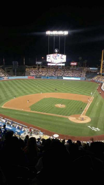 DODGER STADIUM section 7rs