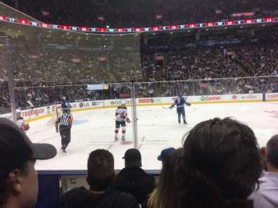 Air Canada Centre, section: 120, row: 5, seat: 21