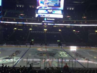 Nationwide Arena, section: 115, row: U, seat: 3