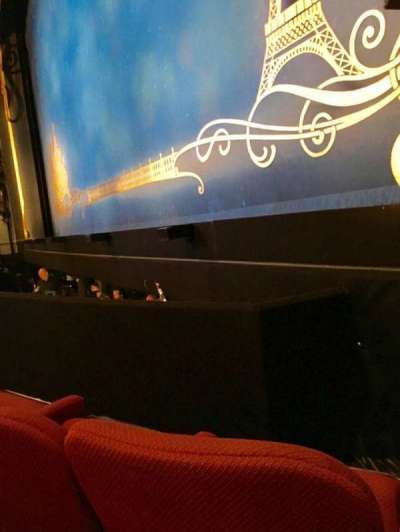 Broadhurst Theatre, section: R Orch, row: B, seat: 12