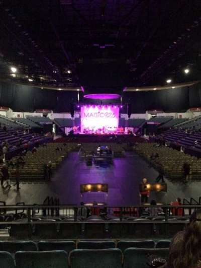 Valley View Casino Center, section: L19, row: 5, seat: 9
