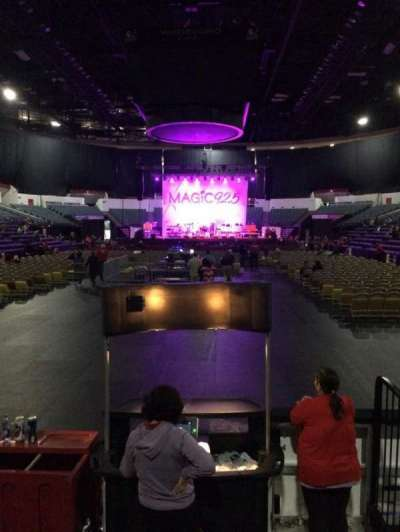 Valley View Casino Center, section: LL19, row: 5, seat: 3