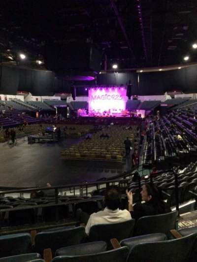 Valley View Casino Center, section: L18a, row: 4, seat: 4