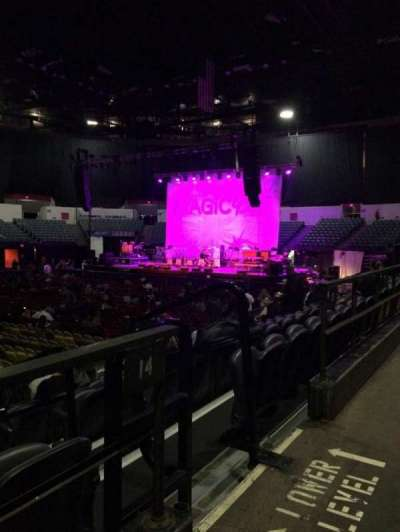 Valley View Casino Center, section: L14, row: 1, seat: 3