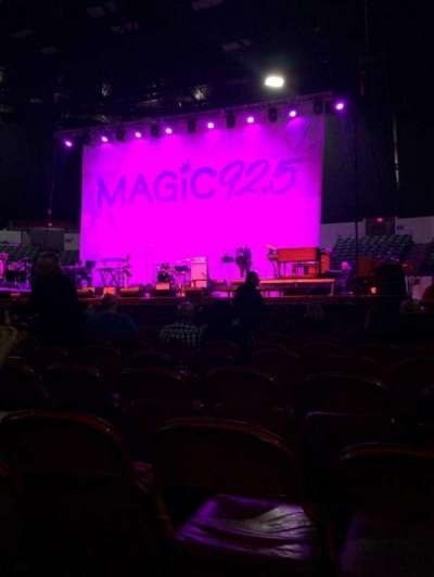 Valley View Casino Center, section: C, row: 9