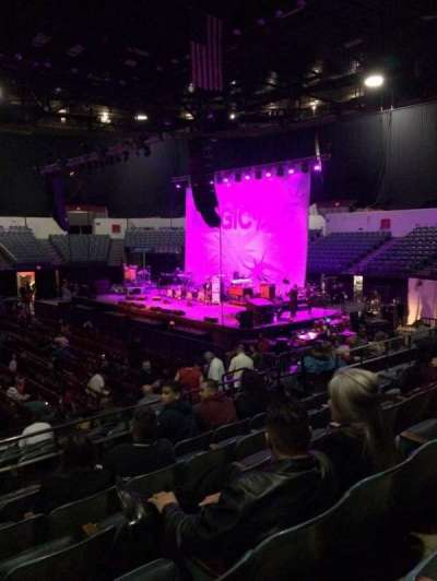 Valley View Casino Center, section: L12, row: 6, seat: 11