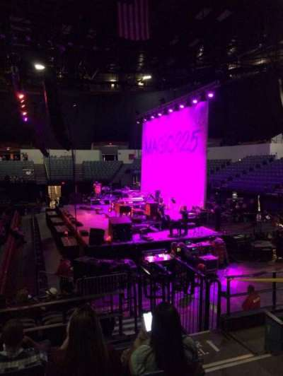 Valley View Casino Center, section: L11, row: 5, seat: 3
