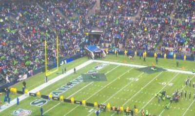 Centurylink Field, section: 309, row: 4, seat: 7