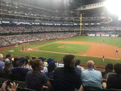 Miller Park, section: 212, row: 6, seat: 7