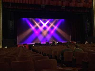 Chicago Theatre, section: MNFL3L, row: G, seat: 301