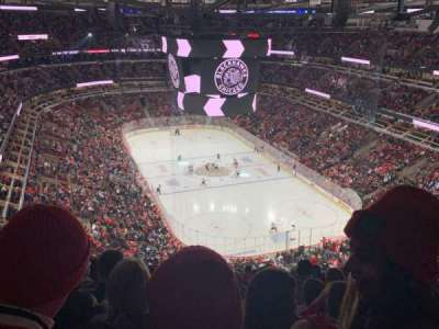 United Center, section: 328, row: 16, seat: 12