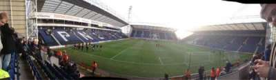 Deepdale, section: Bill Shankly Kop Block P, row: 12, seat: 115
