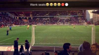 Valley Parade, section: LC, row: L, seat: 47