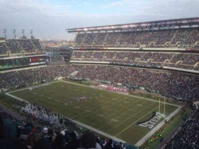 Lincoln Financial Field, section: 207, row: 16, seat: 9