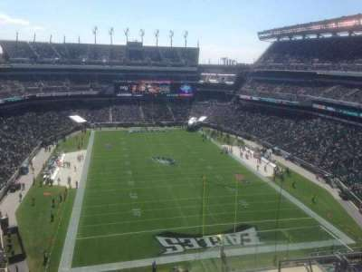 Lincoln Financial Field, section: 234, row: 13, seat: 6