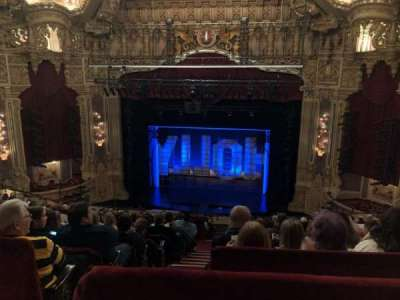 Oriental Theatre, section: Balcrc, row: M, seat: 320