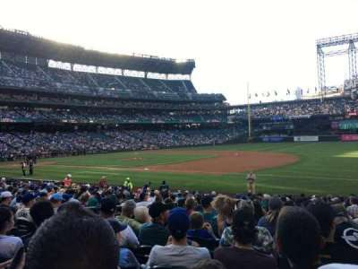 Safeco Field, section: 118, row: 20, seat: 8