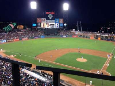 AT&T Park section VB319