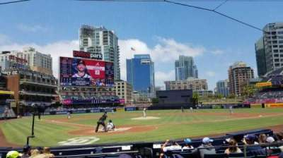 Petco Park, section: 101, row: 11, seat: 15