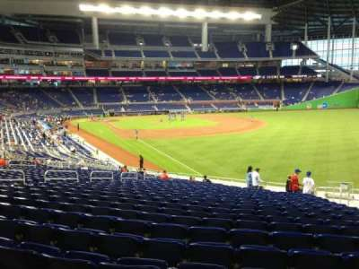 Marlins Park, section: 2, row: 22, seat: 6