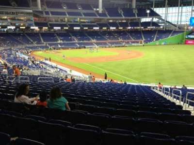 Marlins Park, section: 3, row: 24, seat: 3