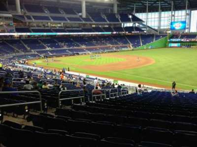 Marlins Park, section: 4, row: 26, seat: 18