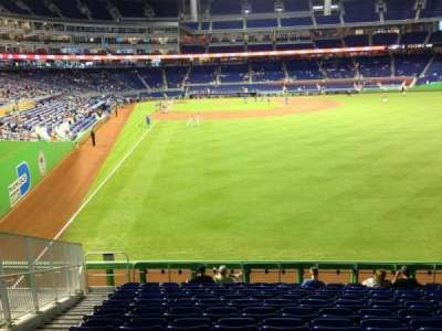 Marlins Park, section: 40, row: 6, seat: 19