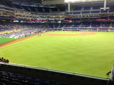 Marlins Park, section: 39, row: 6, seat: 1