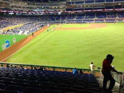 Marlins Park, section: 40, row: 8, seat: 1