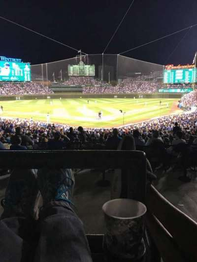 Wrigley Field, section: 220, row: 4, seat: 105