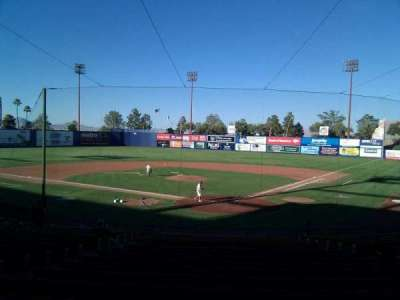 Cashman Field, section: 11, row: t, seat: 9
