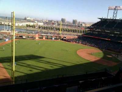 AT&T Park, section: 332, row: 1, seat: 12